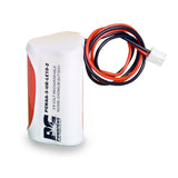 PowerCell PCNAA-3-UR-LC10-2, 3.6V Nickel Cadmium Battery Assembly