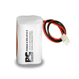 PowerCell PCNAA-4-DR-LC12-2, 4.8V Nickel Cadmium Battery Assembly