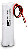 PowerCell PCNAA-4-DS-L, 4.8V Nickel Cadmium Battery Assembly