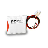 PowerCell PCNAA-4-SR-LC31-1, 4.8V Nickel Cadmium Battery Assembly