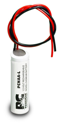 PowerCell PCNAA-L, 1.2V Nickel Cadmium Battery Assembly