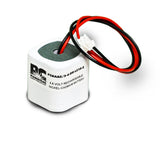 PowerCell PCNAA2/3-4-DR-LC10-2, 4.8V Nickel Cadmium Battery Assembly