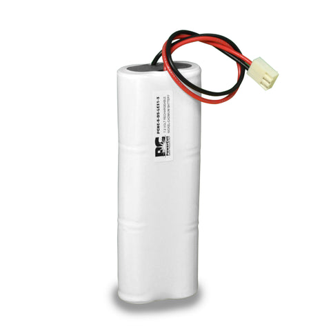 PowerCell PCNC-6-DS-LC31-3, 7.2V Nickel Cadmium Battery Assembly