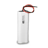 PowerCell PCNC-6-DS-L, 7.2V Nickel Cadmium Battery Assembly