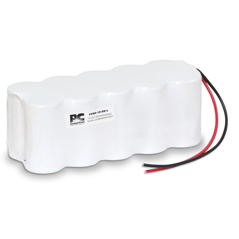 PowerCell PCND-10-DR-L, 12V Nickel Cadmium Battery Assembly