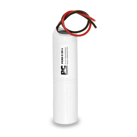 PowerCell PCND-2-SS-L, 2.4V Nickel Cadmium Battery Assembly