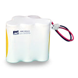 PowerCell PCNF-5-UR-LC-2, 6V Nickel Cadmium Battery Assembly