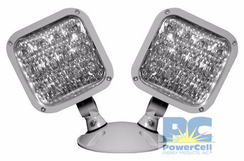 PCRHL2WP, Remote Head, LED, Double, Outdoor, MULTI-VOLT CAPABILITY