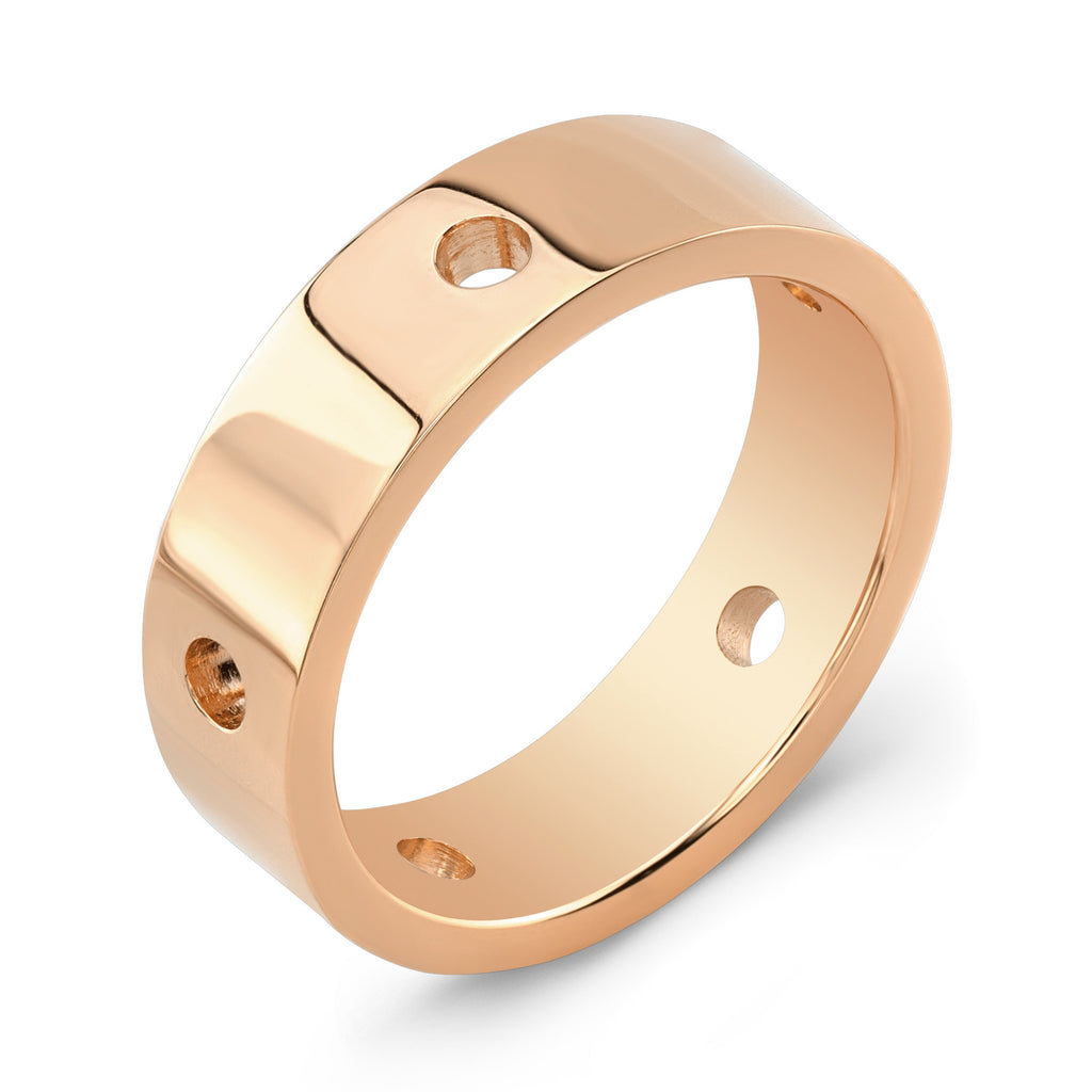 Dafina Circle for Him (Rose Gold) - Dafina Jewelry