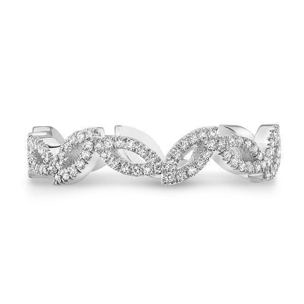 Dafina Double Marquise for Her (White Gold) - Dafina Jewelry - 2