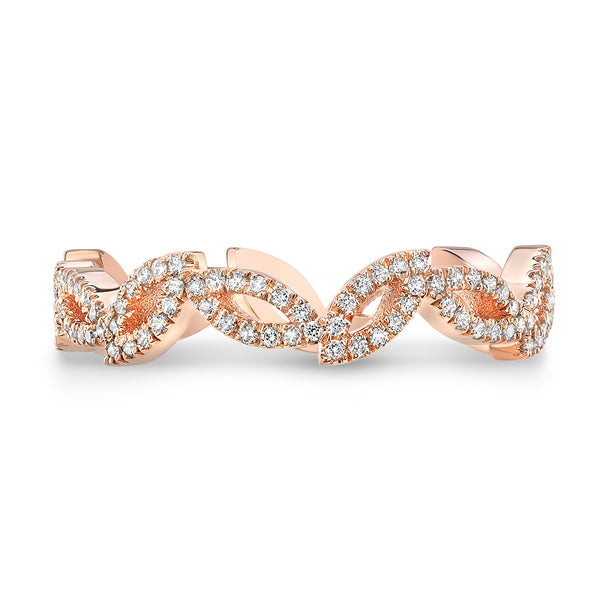 Dafina Double Marquise for Her (Rose Gold) - Dafina Jewelry - 2