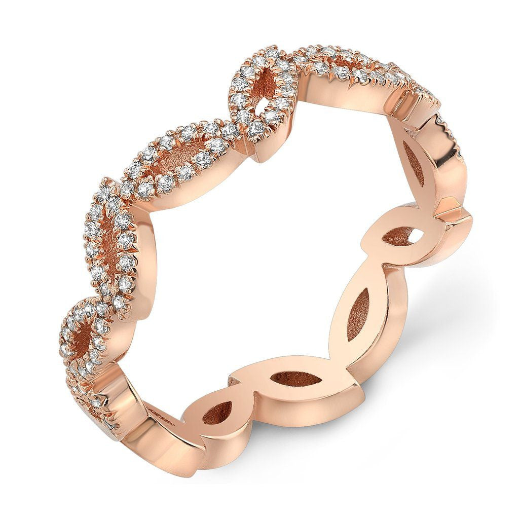 Dafina Double Marquise for Her (Rose Gold) - Dafina Jewelry - 1