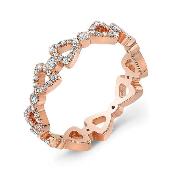 Dafina Double Ribbon for Her (Rose Gold) - Dafina Jewelry - 1
