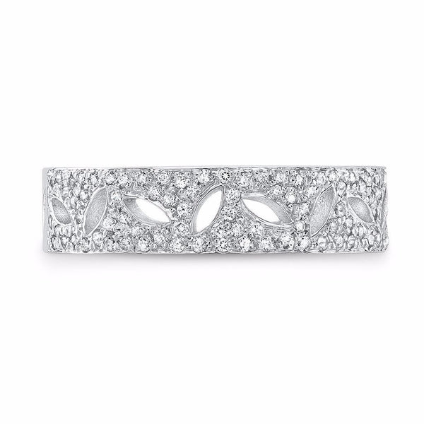 Dafina Double Seed for Her (White Gold) - Dafina Jewelry