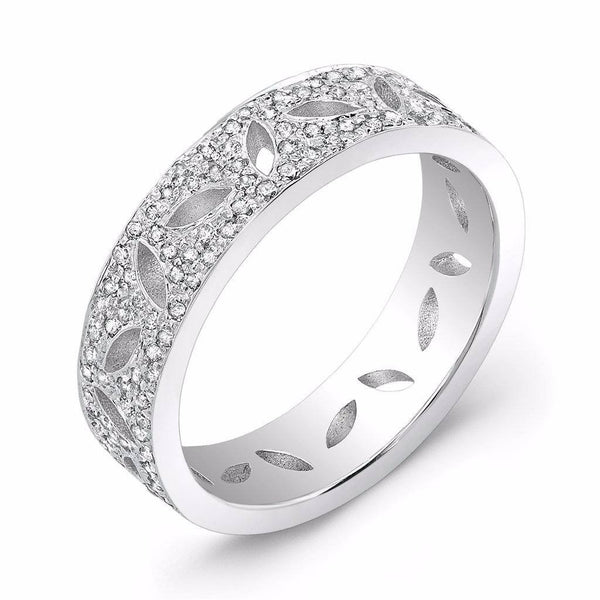 Dafina Double Seed for Her (White Gold) - Dafina Jewelry - 1