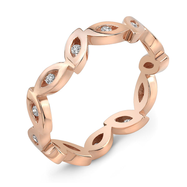 Dafina Marquise for Her (Rose Gold) - Dafina Jewelry - 1
