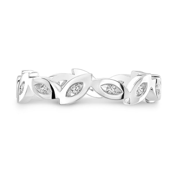 Dafina Marquise for Her (White Gold) - Dafina Jewelry - 2