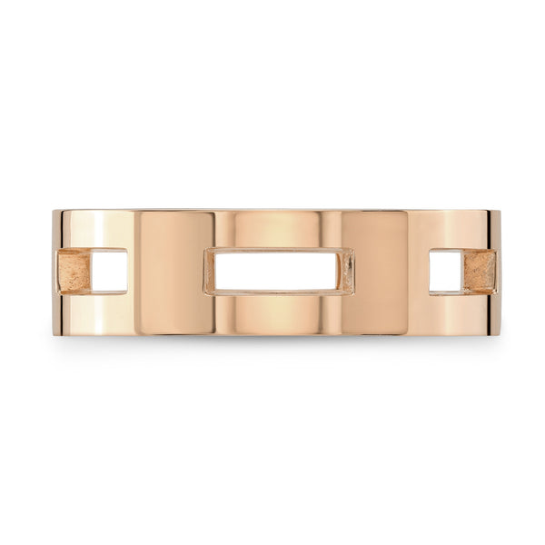 Dafina Rectangle for Him (Rose Gold) - Dafina Jewelry - 2
