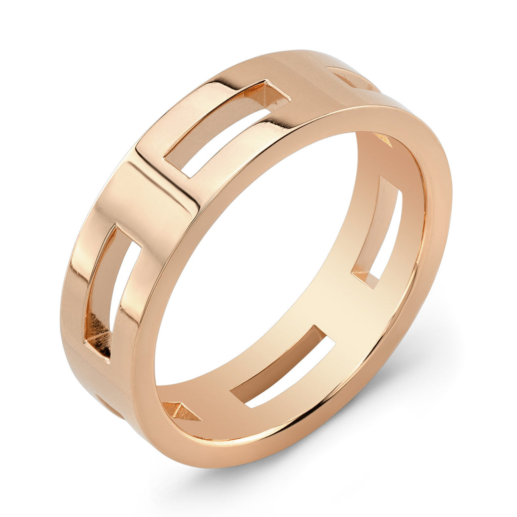 Dafina Rectangle for Him (Rose Gold) - Dafina Jewelry - 1