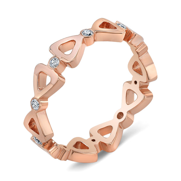Dafina Ribbon for Her (Rose Gold) - Dafina Jewelry - 1