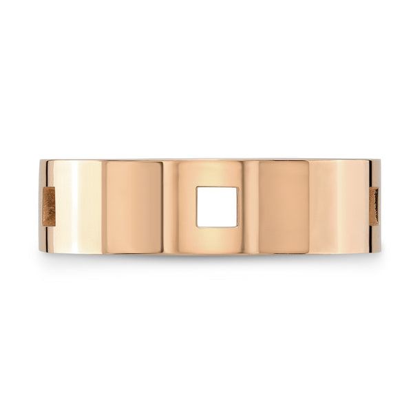 Dafina Square for Him (Rose Gold) - Dafina Jewelry - 2