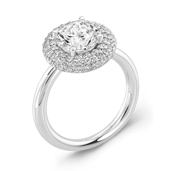 Diamond Roll (All Diamonds) - Dafina Jewelry - 1