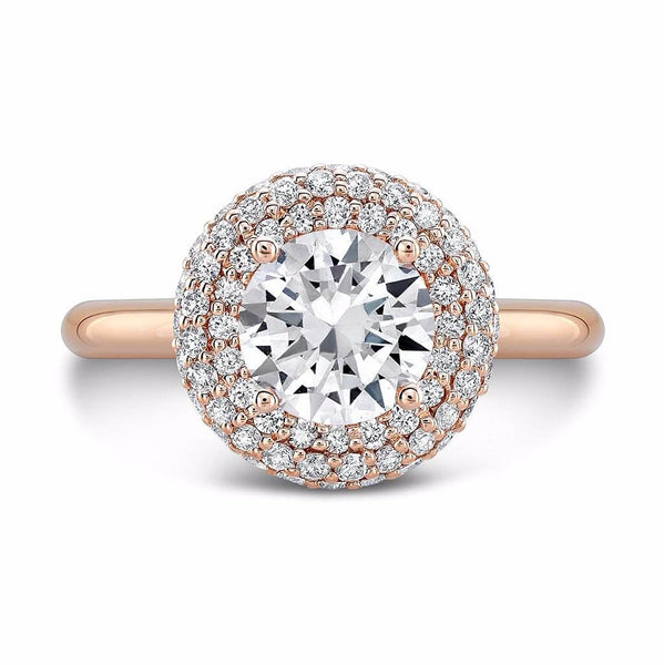 Diamond Roll (All Diamonds) - Dafina Jewelry - 4