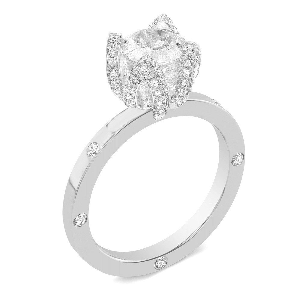 with shoulders rings product dimond a solitaire diamond engagement channel set prong ring