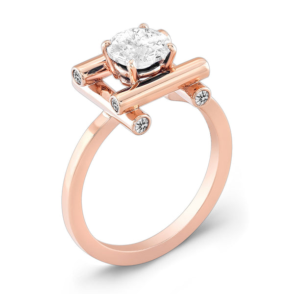 Love Fire (All Diamonds) - Dafina Jewelry - 3