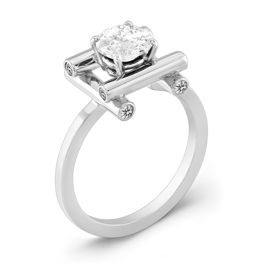 Love Fire (All Diamonds) - Dafina Jewelry - 1