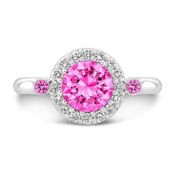 Seul (All Pink Sapphires) - Dafina Jewelry - 2