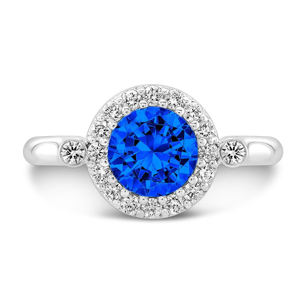 sapphire image gold diamond ring yellow