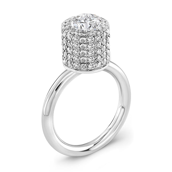 Tall Ultra Brilliant (All Diamonds) - Dafina Jewelry - 1