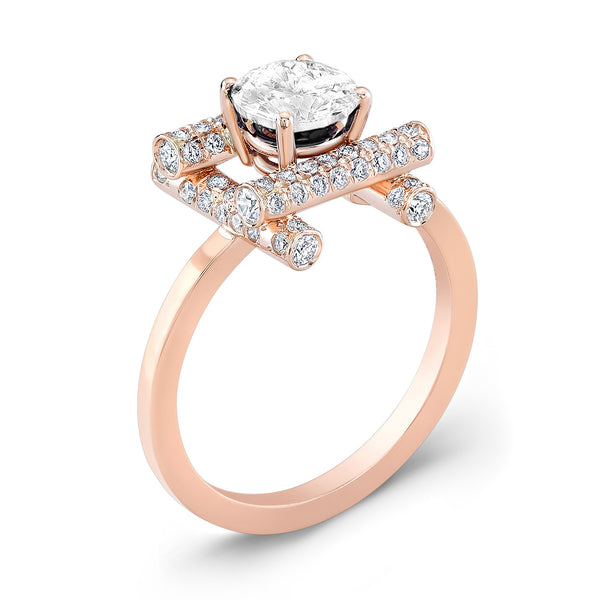 Ultra Love Fire (All Diamonds) - Dafina Jewelry - 3