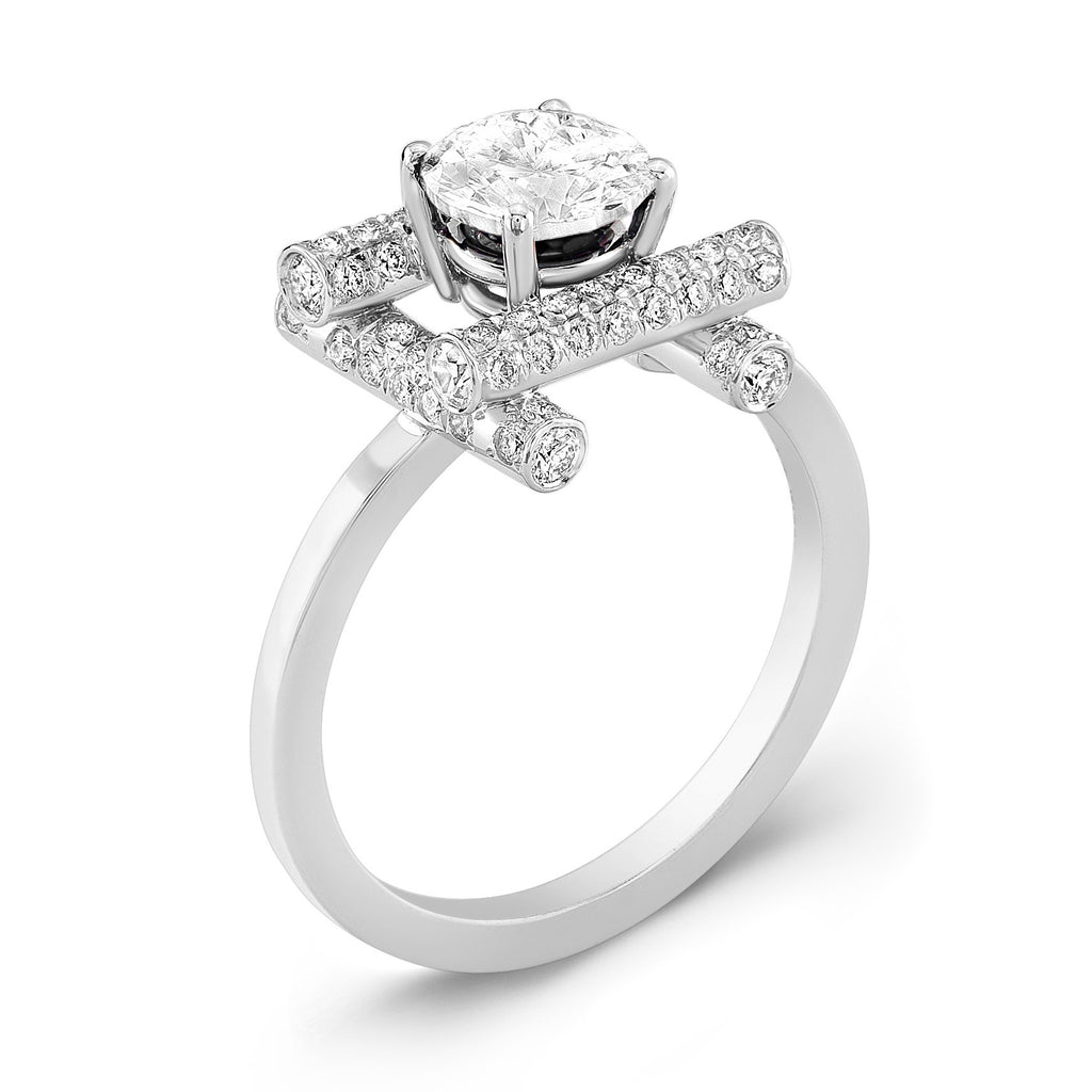 Ultra Love Fire (All Diamonds) - Dafina Jewelry - 1