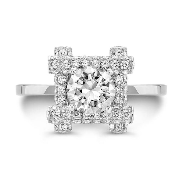 Ultra Love Fire (All Diamonds) - Dafina Jewelry - 2
