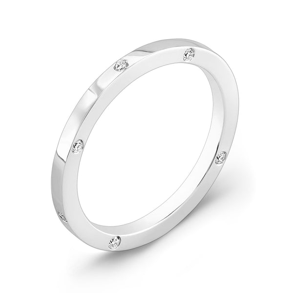 Dafina OM for Her (White Gold) - Dafina Jewelry - 1