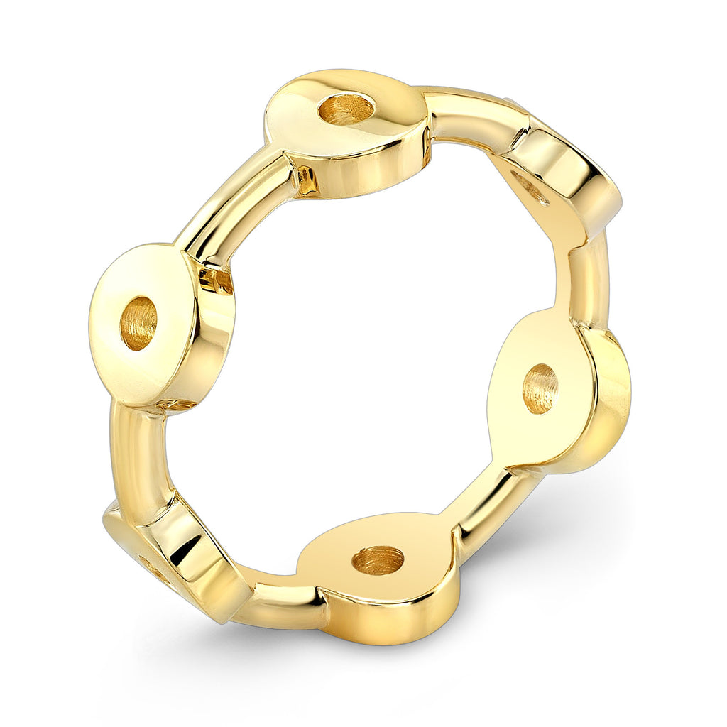 Dafina Knot for Him (Yellow Gold) - Dafina Jewelry - 1