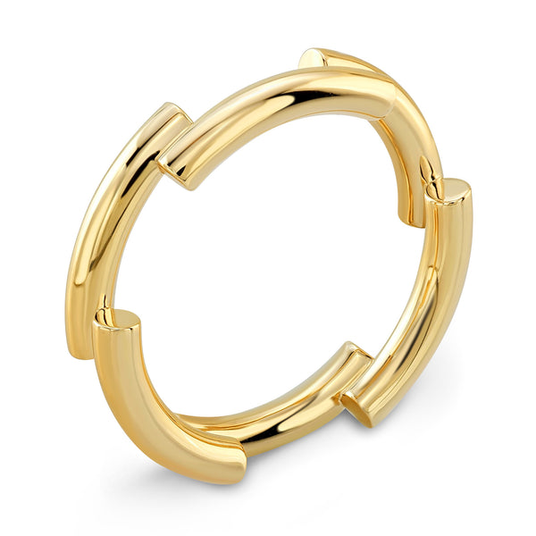 Dafina Band for Him (Yellow Gold) - Dafina Jewelry - 1