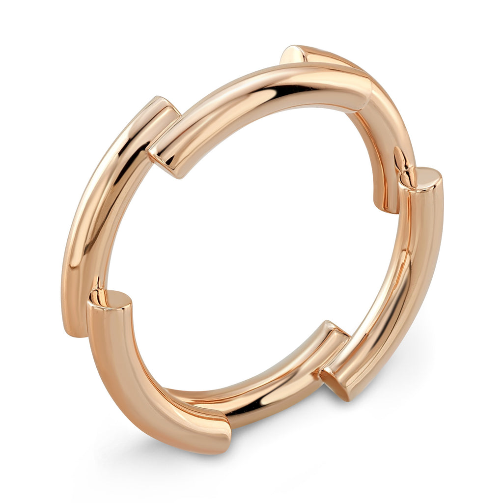 Dafina Band for Him (Rose Gold) - Dafina Jewelry