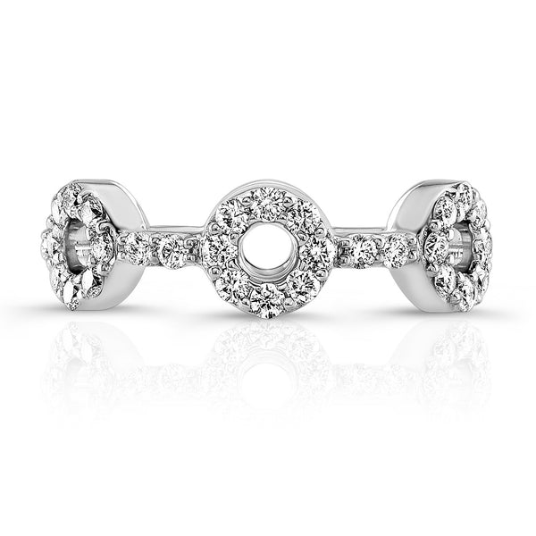 Dafina Knot for Her (White Gold) - Dafina Jewelry - 2