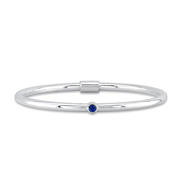 created apprasial sterling and ip size a wh bracelet bangles value sapphire igi silver lab img sams in blue white brclt