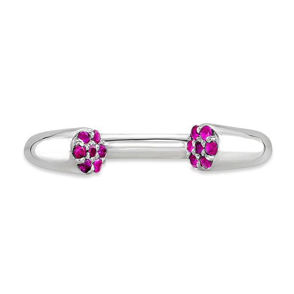 Dafina Karma (Sterling silver with Pink Sapphires) - Dafina Jewelry - 2