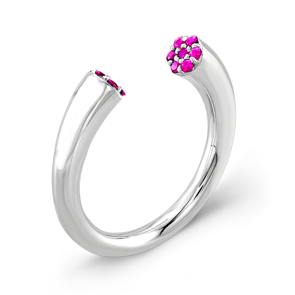 Dafina Karma (Sterling silver with Pink Sapphires) - Dafina Jewelry - 1