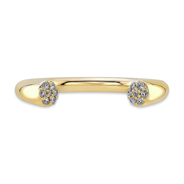 Dafina Karma (14K Gold with Diamonds) - Dafina Jewelry - 2