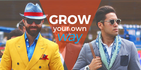 Grow Your Own Way: Men's Grooming Habits Part with Tradition