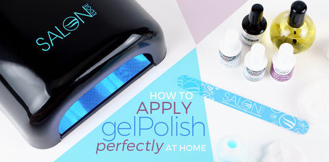 How to Apply Gel Nail Polish Perfectly at Home
