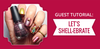 Guest Tutorial: Let's Shell-Ebrate Nail Art