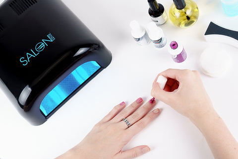 how to apply gel nail polish step 8