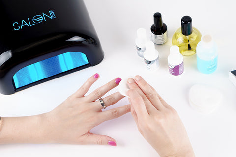 how to apply gel nail polish step 14